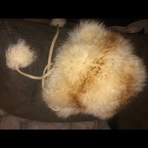 60s vintage Tuscan lamb skin hat made in Italy